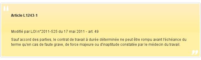 Article L1243-1