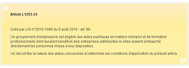 Article L1253-24