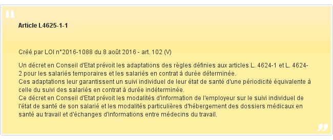 Article L4625-1-1