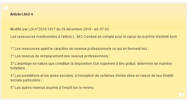 Article L842-4