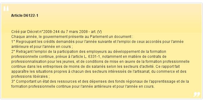 Article D6122-1