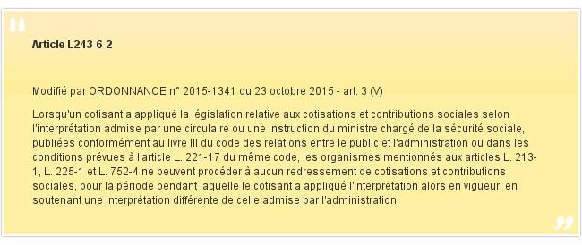 Article L243-6-2