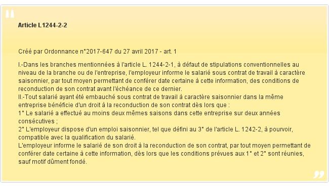 Article L1244-2-2