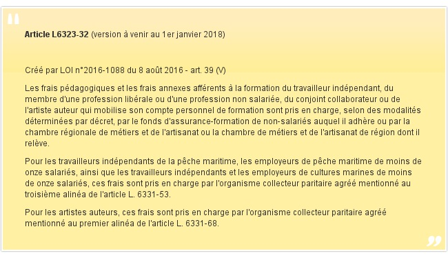 Article L6323-32
