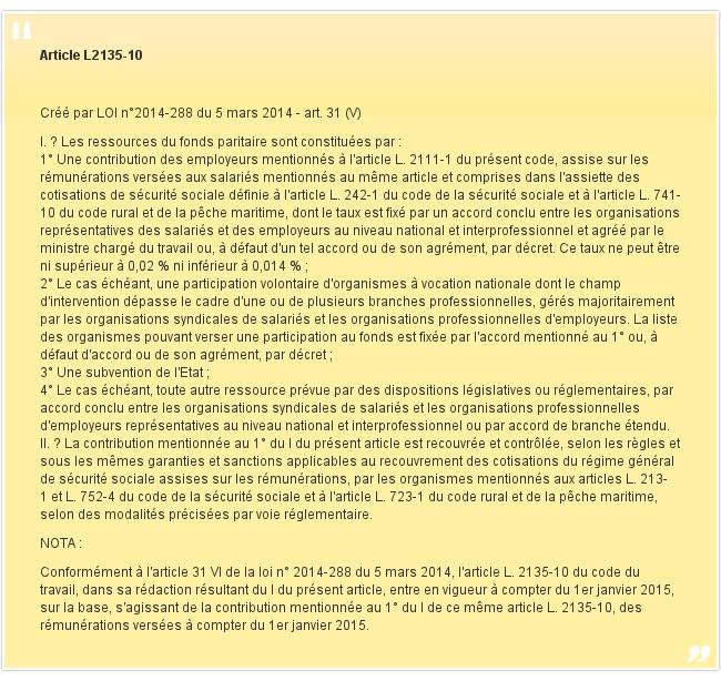 Article L2135-10
