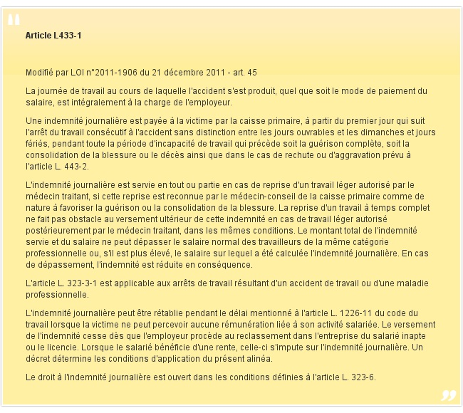 Article L433-1