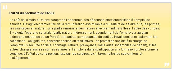Extrait du document de l'INSEE