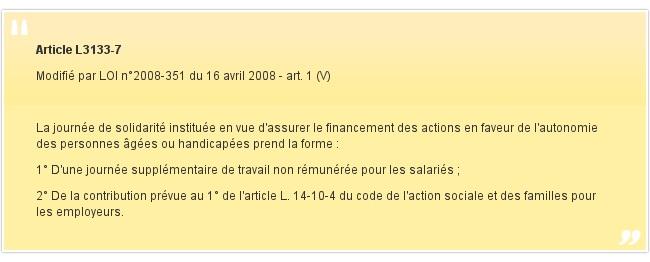 Article L3133-7