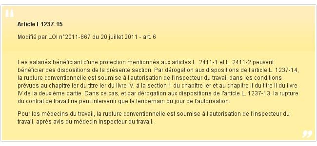 Article L1237-15