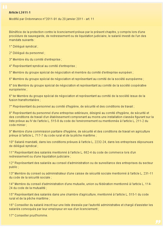 Article L2411-1