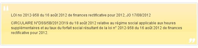 LOI no 2012-958 du 16 août 2012 de financ...